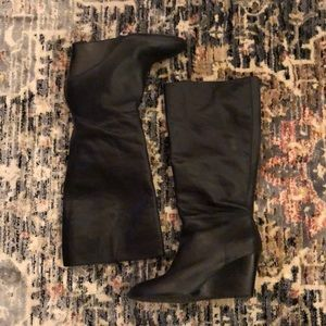 Banana Republic Tall Black Boots